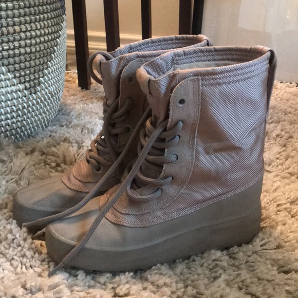 35a6ed03e M 5b91a464534ef9ee84690080. Other Shoes you may like. Yeezy season 6 satin  boots